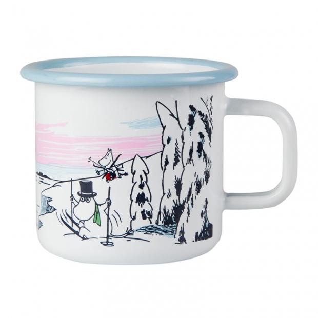 Hrnček Moomin Winter time 0,37l