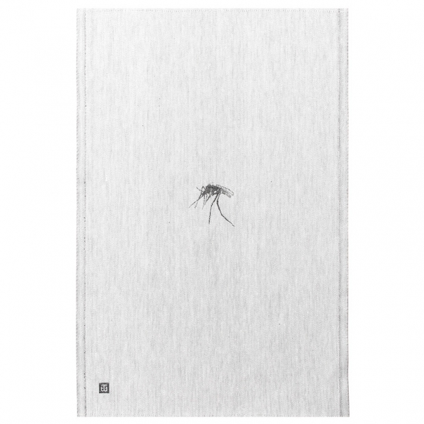 Utierka Hyttynen 46x70, sivo-čierna