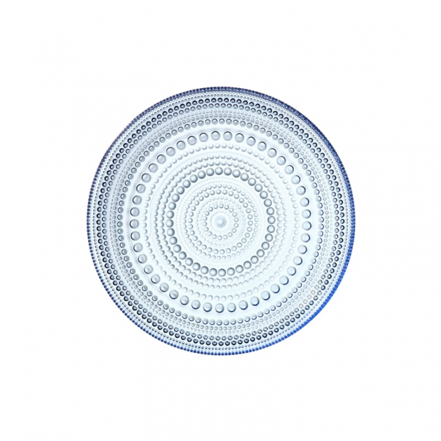 Talíř Kastehelmi 17cm, modrý aqua