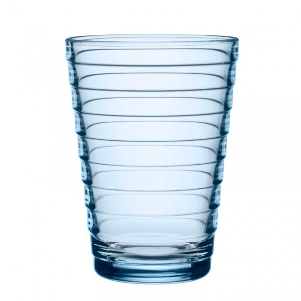 Sklenice Aino Aalto 0,33l, 2ks, modré aqua