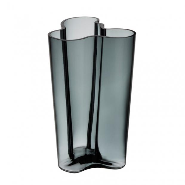 Váza Alvar Aalto 251mm, sivá