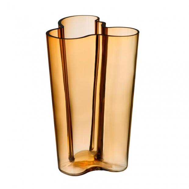 Váza Alvar Aalto 251mm, zlatá desert