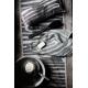Ručník Twisti 48x70, len / černý