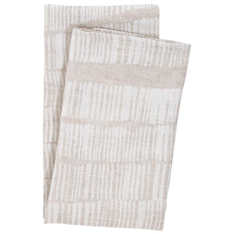Osuška Uitto 95x180, lněná
