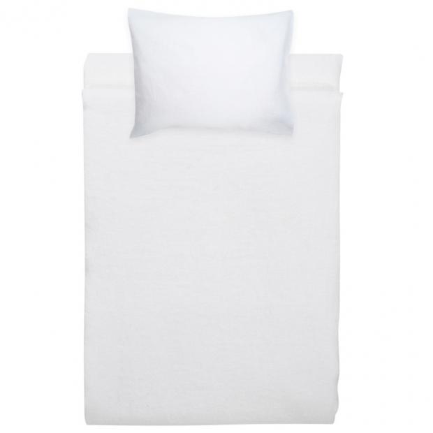 Ľanové obliečky Ilta 150x210, biele