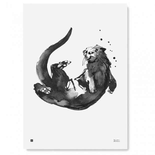 Plagát Otter 50x70