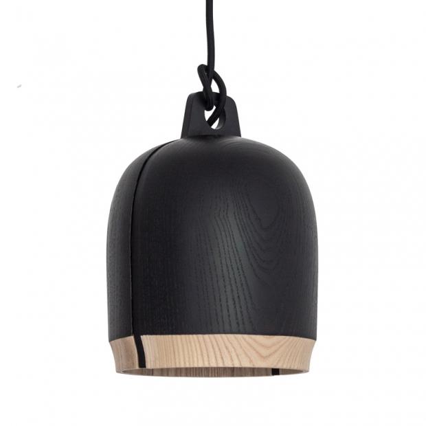 Závěsná lampa Lento 1, černá