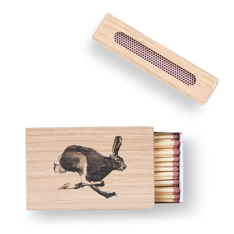 Krabička na zápalky Hare, dub