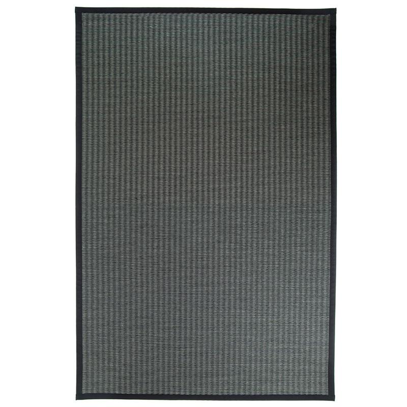 Koberec Kelo, šedo-černý