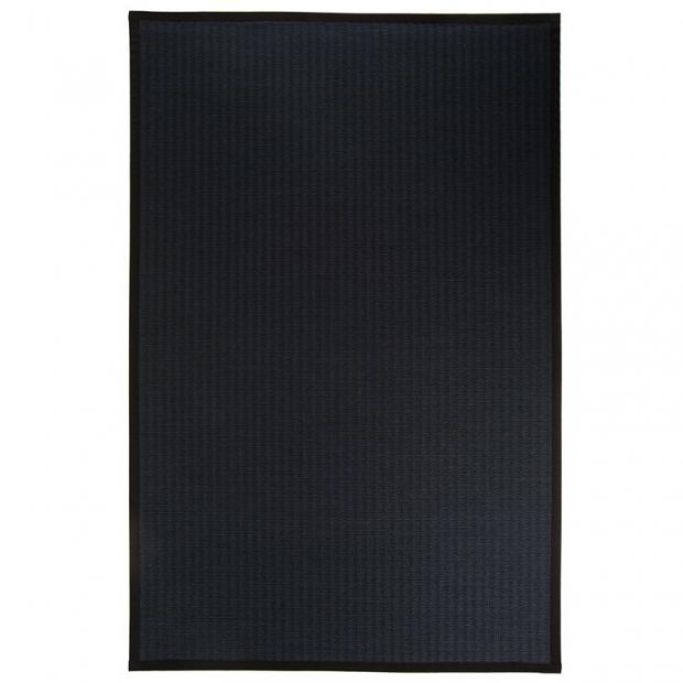 Koberec Kelo, čierno-modrý
