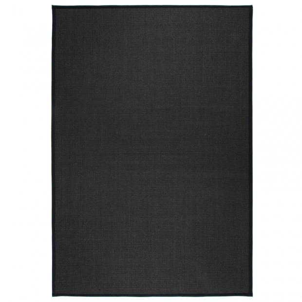 Koberec Sisal, černý