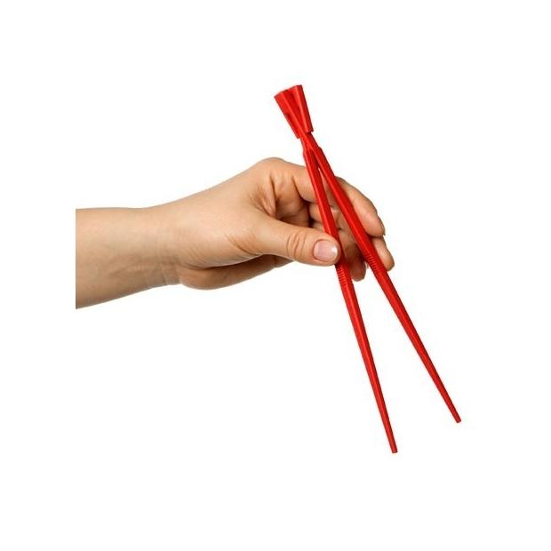 Jedálenské paličky Kitastick, červené