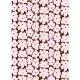 Látka Pieni Unikko 10m, bavlna / růžová