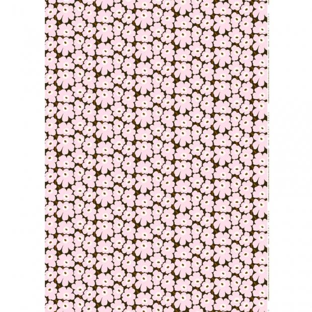 Látka Mini Unikko 10m, bavlna / růžová