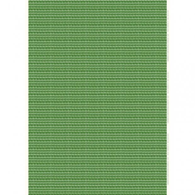 Látka Alku 10m, bavlna / zelená