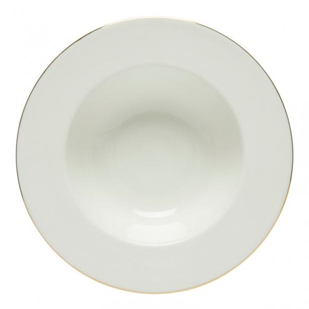 Hlboký tanier Oiva Anniversary 20cm, biely