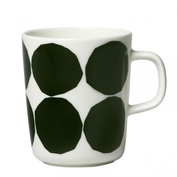 Hrnek Oiva Kivet 0,25l, tmavě zelený