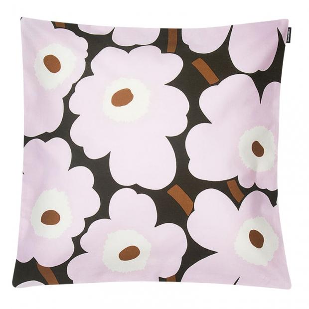 Povlak na polštář Pieni Unikko 45x45, růžový