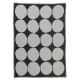 Deka Kivet 140x190, černo-bílá