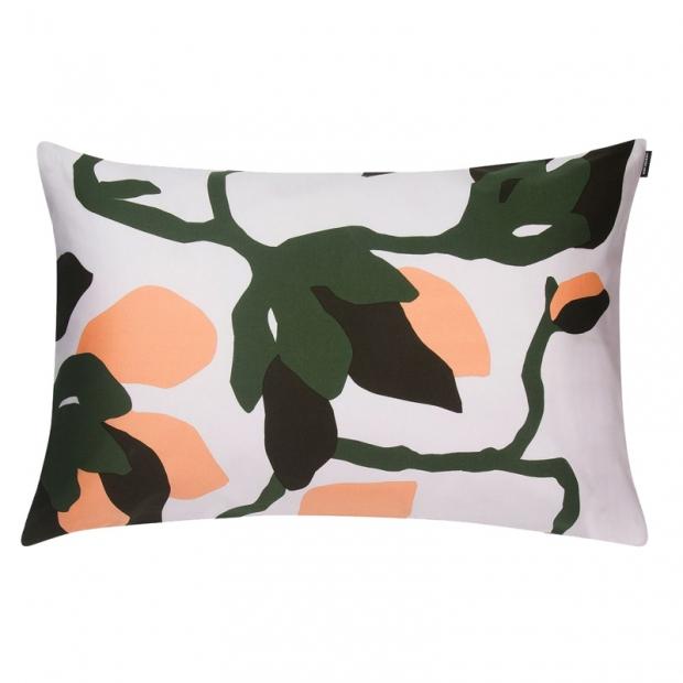 Obliečka na vankúš Mielitty 40x60, ružovo-oranžovo-zelená