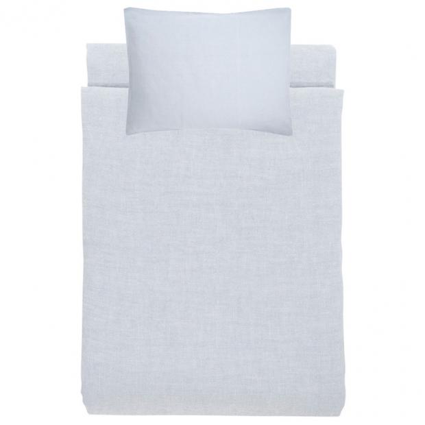 Ľanové obliečky Ilta 150x210, mist grey