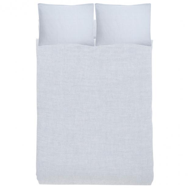 Ľanové obliečky Ilta 230x220, mist grey