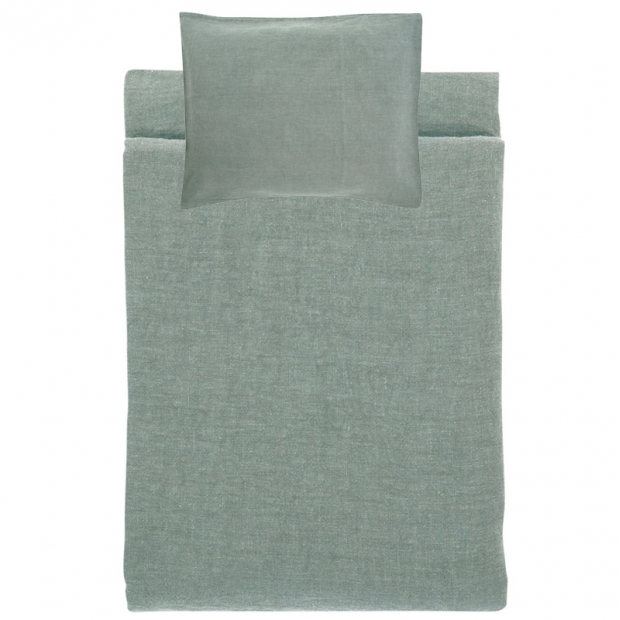 Ľanové obliečky Ilta 150x210, dim grey