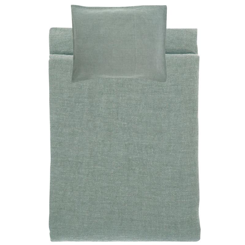 Lněné povlečení Ilta 150x210, dim grey