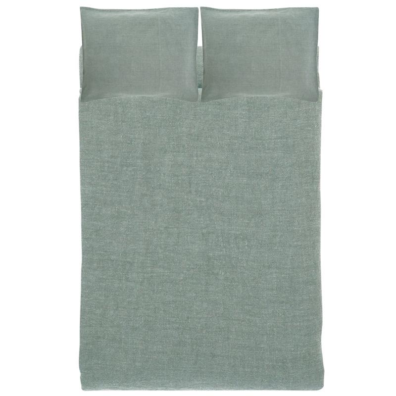 Ľanové obliečky Ilta 230x220, dim grey