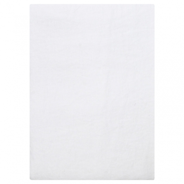 Lněné prostěradlo Ilta 250x270, bílé