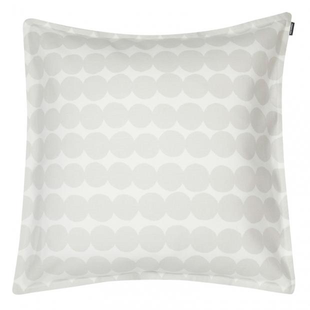 Obliečka na vankúš Räsymatto 50x50, bielo-sivý