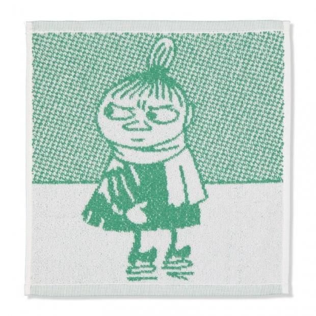 Ručník Little My 30x30, zelený