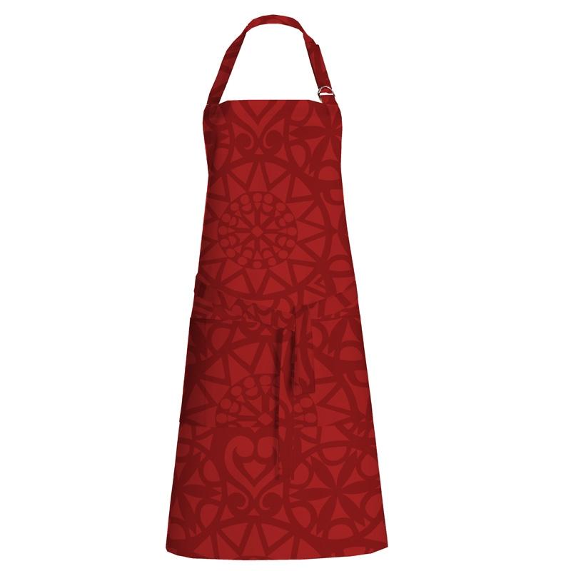 Kuchynská zástera Rosetti, červená