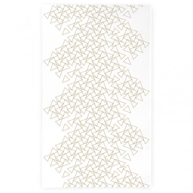 Obrus Kronos 145x250, bielo-béžový