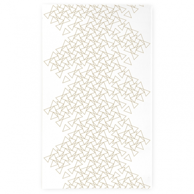 Ubrus Kronos 145x250, bílo-béžový