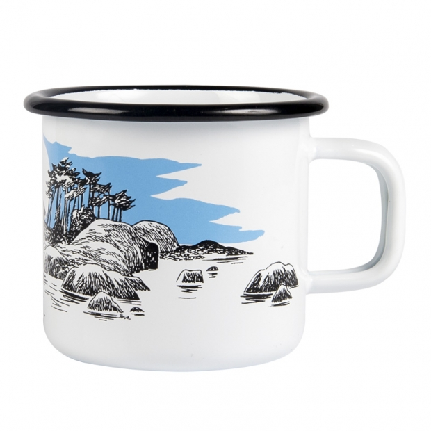 Hrnek Moomin Island 0,37l