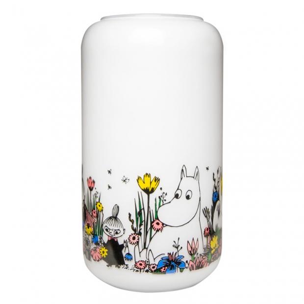 Váza Moomin Shared Moment, bílá / velká