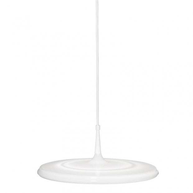 Závěsná lampa Tip 400, bílá