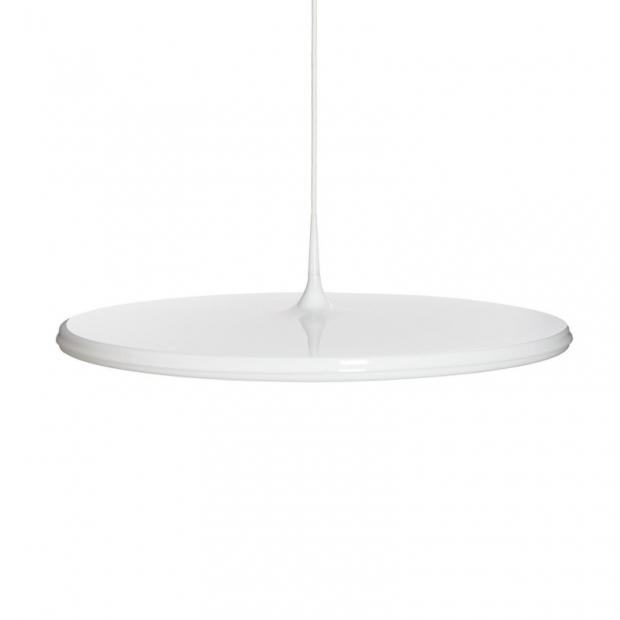 Závesná lampa Tip 600, biela