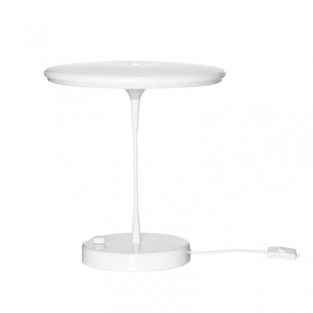 Stolná lampa Tip 400, biela