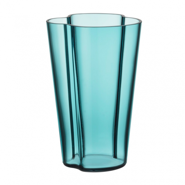 Váza Alvar Aalto 220mm, sea blue