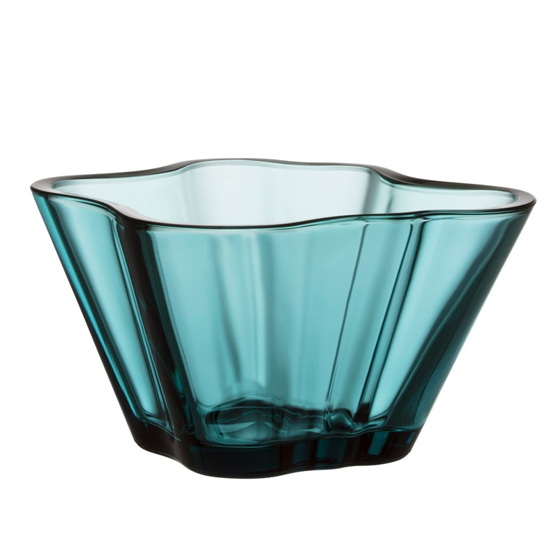 Miska Alvar Aalto 75mm, sea blue