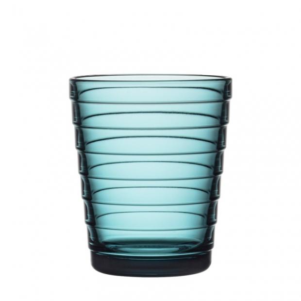 Poháre Aino Aalto 0,22l, 2ks, sea blue