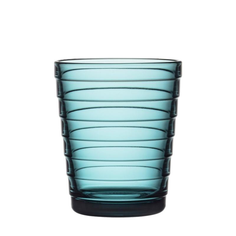 Sklenice Aino Aalto 0,22l, 2ks, sea blue