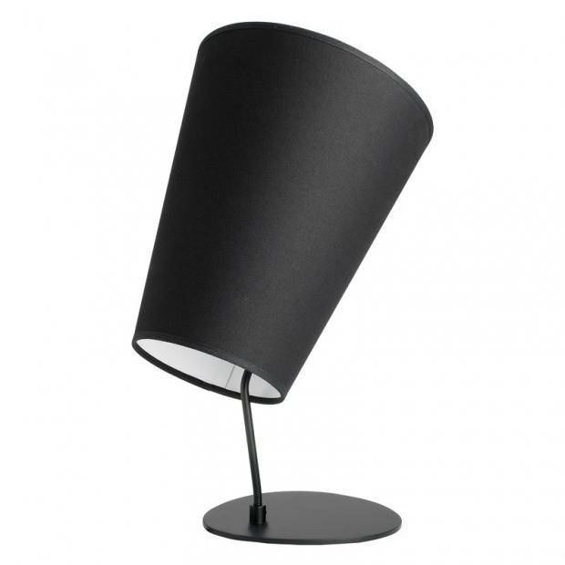 Stolní lampa Soihtu, černá