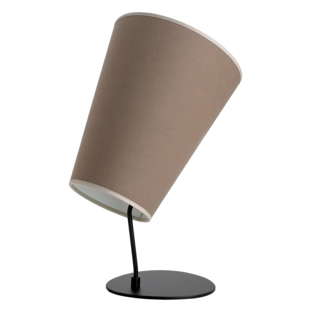 Stolná lampa Soihtu, piesková