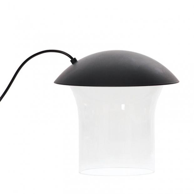 Stolní lampa Leiju S, tmavě šedá