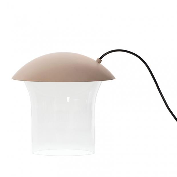 Stolná lampa Leiju S, nude
