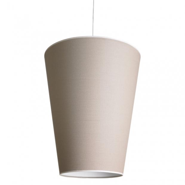 Závesná lampa Soihtu, piesková