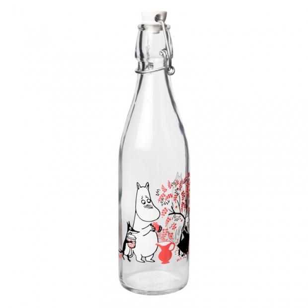 Sklenená fľaša Moomin Berries 0,5l